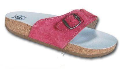 Korkové pantofle Protetika korkáče jednopáskové zdravotní růžová fuksie Protetika a.s.
