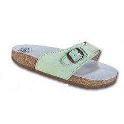 Korkové pantofle Protetika T05/52 pistácie