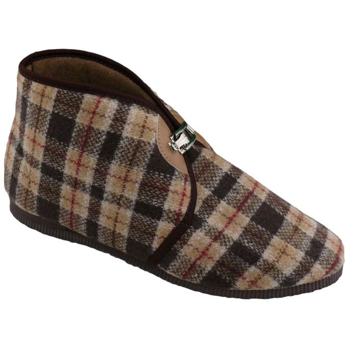 Bačkory domácí Pegres na přezku vel. 39 (26) - 47 (31) - papuče na přezku