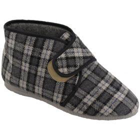 Domácí bačkory - papuče na suchý zip Pegres