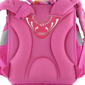 Barbie s pejskem - dívčí školní aktovka značky Target, barva růžová.