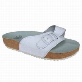 Korkové pantofle Protetika bílá