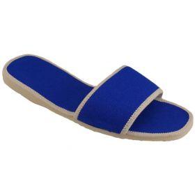 Pantofle domácí obuv kovralky mix barev