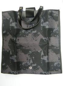 Nákupní taška KšK vzor 145 šedo černá