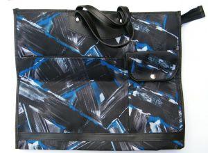 Nákupní taška KšK vzor 232 modro černá