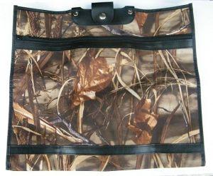 Skládací nákupní taška vz. 208 motiv rákos barva hnědá KšK