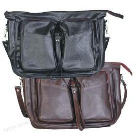 Skládací taška pánská Kšk, kabela 146 - černá