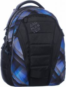 ŠKOLNÍ BATOH  Bagmaster BAG 0215 B BLACK/BLUE