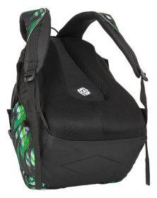 Školní batoh Bagmaster BAG 8 CH BLACK/GRAY/WHITE