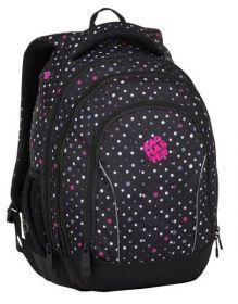 Školní batoh Bagmaster SUPERNOVA 8 C BLACK/GRAY/PINK
