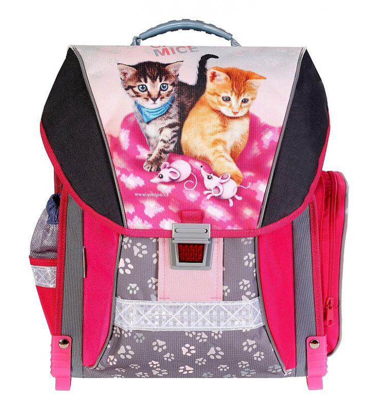 Školní batoh Emipo pro prvňáčky Cats & Mice