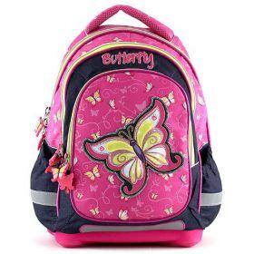 Školní batoh motýl