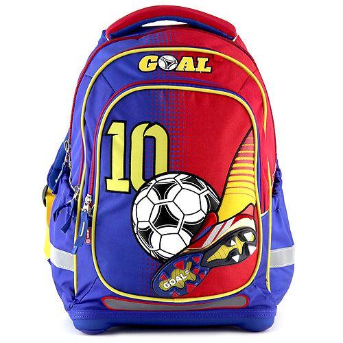 Školní batoh Target Goal Modro/červený