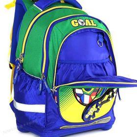 Školní batoh Target Goal Zeleno/modrý