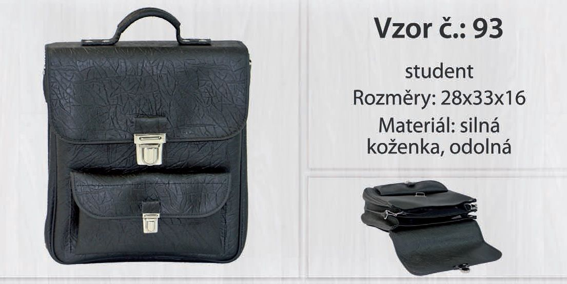 Taška kabela pánská KšK vz. 93 od českého výrobce