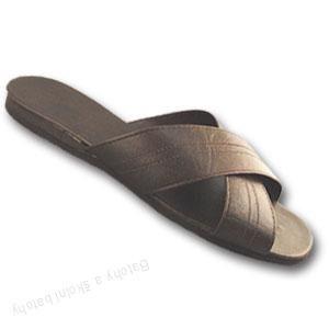 Vojenské pantofle Pegres s překříženými pásky - velikost 39 - 48
