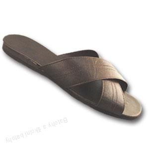 Vojenské pantofle Pegres - velikost 46 - 48