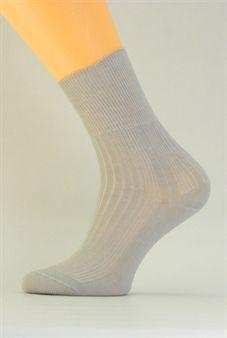 Zdravotní dámské ponožky Benet světle šedá C005