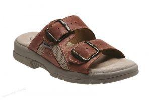 Zdravotní obuv SANTÉ pantofle dámské N/517/31/49/S/SP lososová barva
