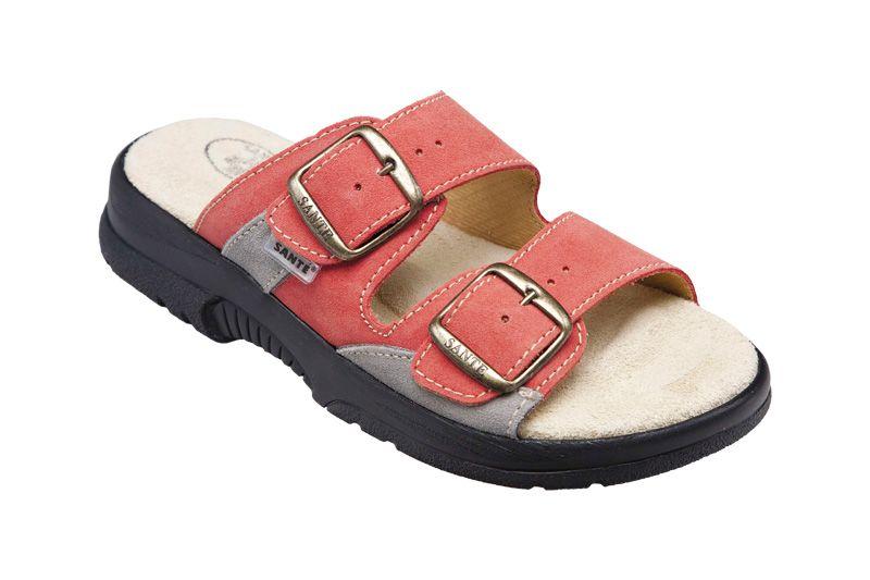 Zdravotní obuv SANTÉ pantofle dámské N/517/33/36/18/CP oranžové SANTÉ - zdravotní obuv s.r.o.
