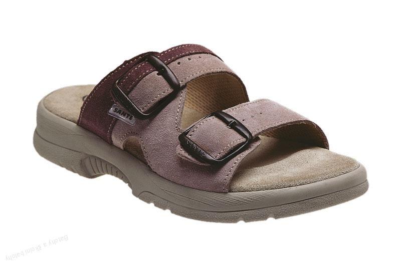 Zdravotní obuv SANTÉ pantofle dámské N/517/51/48/57/SP starorůžové Sante SANTÉ - zdravotní obuv s.r.o.