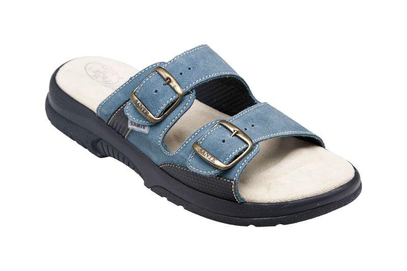 Zdravotní obuv SANTÉ pantofle pánské N/517/35/88/28/CP modré SANTÉ - zdravotní obuv s.r.o.