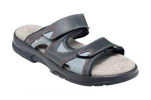 Zdravotní pantofle Santé , černá N/517/62/69/16