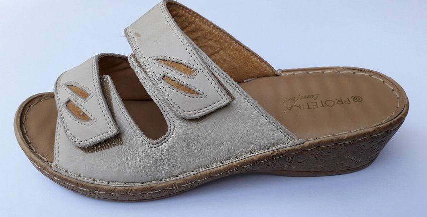 Dámské masážní pantofle Protetika béžová barva vz. 1439 Protetika a.s.
