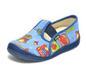 Dětské bačkůrky Fare vel. 25 doprodej - dětská domácí obuv
