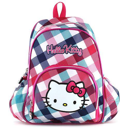 Batůžek Target Hello Kitty barevné kostky