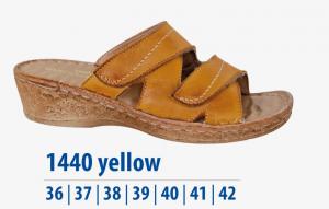 Dámská komfortní obuv Protetika žlutá