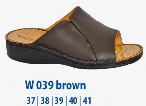 Dámská komfortní obuv Protetika brown