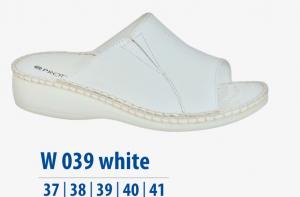 Dámská komfortní obuv Protetika bílé