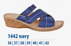 Dámská komfortní obuv Protetika modré
