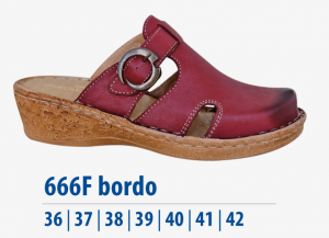 Dámská komfortní obuv Protetika koral