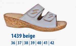 Dámská komfortní obuv Protetika bílá