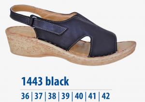 Dámská komfortní obuv Protetika černé
