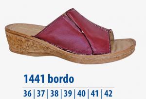 Dámská komfortní obuv Protetika bordo