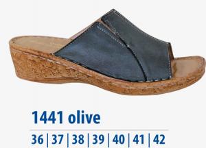 Dámská komfortní obuv Protetika olivová