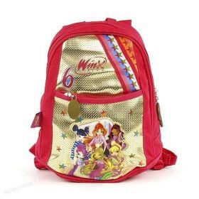 Dětský batoh Target Winx Club červeno/zlatý