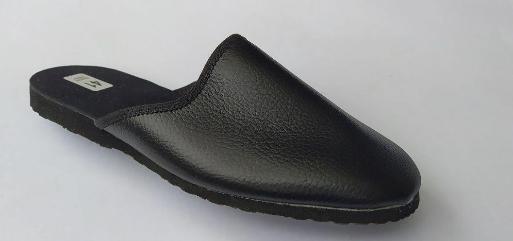 Kominické pantofle - kožené vel. 39 - 40 Vyrobeno v ČR