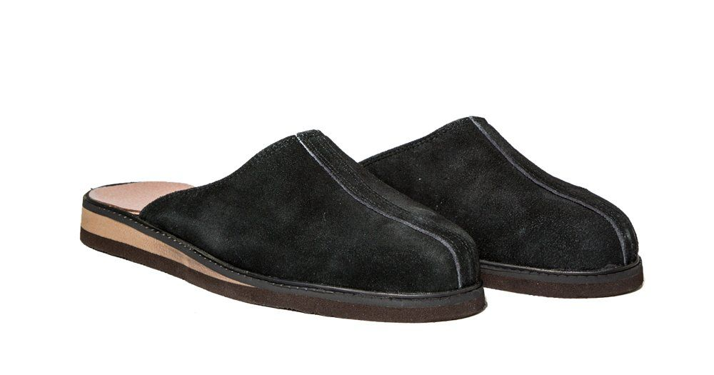 Kominické pantofle kožené Vyrobeno v ČR