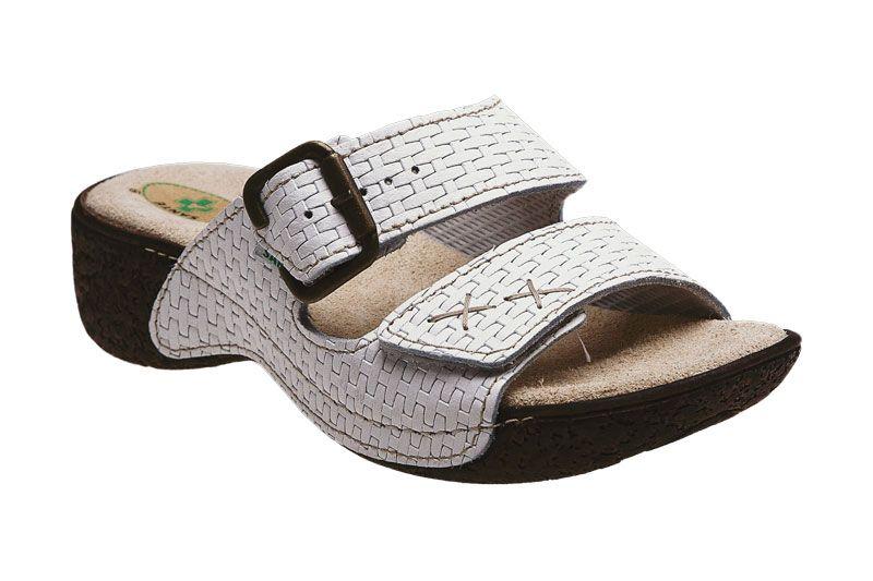 Santé N/109/1/03 dámské zdravotní pantofle bílé