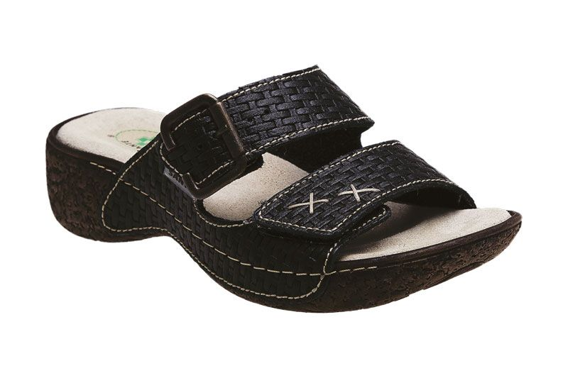 Santé N/109/1/03 dámské zdravotní pantofle černé