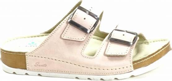 Santé N/211/1/54 SP dámské zdravotní pantofle světle růžové