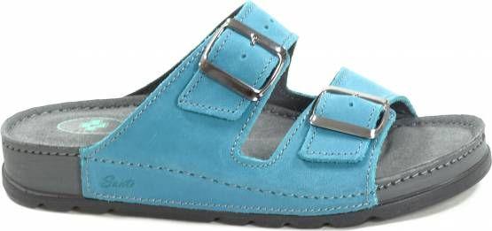Santé N/211/1/87 CP dámské zdravotní pantofle tyrkysové