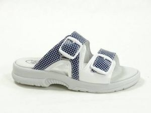 Santé N/517/55/T80/10/BP dámské zdravotní pantofle modré
