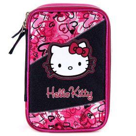 Školní penál s náplní Hello Kitty