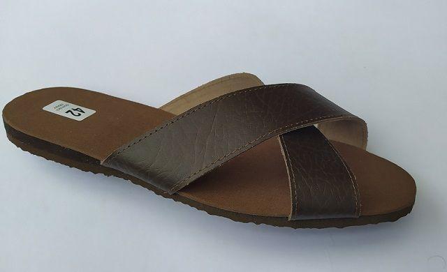 Vojenské pantofle - kožené vel. 42 - 46 Vyrobeno v ČR