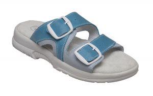 Zdravotní obuv SANTÉ pantofle dámské N/517/55/O87/O16 TYRKYS